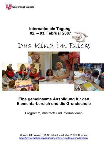 Abstracts und Informationen zur Tagung als PDF-Version