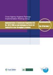 Low throughput premises - The Food Safety Authority of Ireland