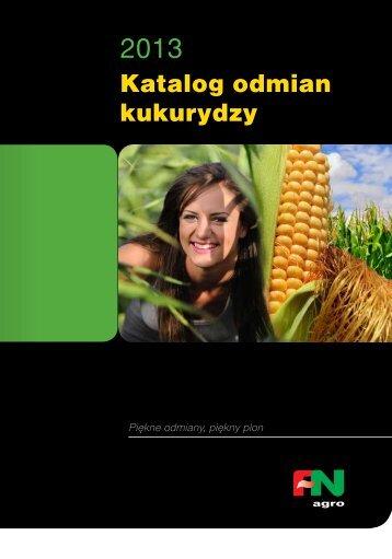 katalog odmian kukurydzy 2013 - FiN Agro Polska