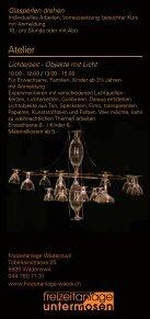 InfoFlyer - Freizeitanlage Wädenswil - Seite 2