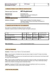 Sicherheitsdatenblatt MT8 Kupfertoner - Fotoimpex