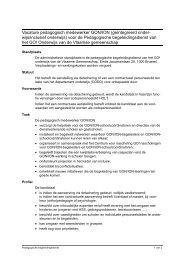 Vacature pedagogisch medewerker GON/ION (geïntegreerd onder ...