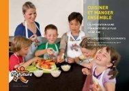 Brochure «Cuisiner et manger ensemble - Fit-4-Future
