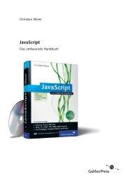 JavaScript - Galileo Computing