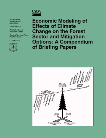 Economic modeling of effects of climate change on the forest sector ...