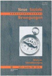 Vollversion (6.59 MB) - Forschungsjournal Soziale Bewegungen