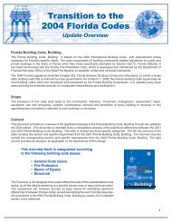 FBC Building Overview (pdf) - Florida Building Code Information ...