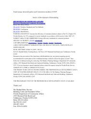 Notice of Development of Rulemaking 9b44 - Florida Building Code ...