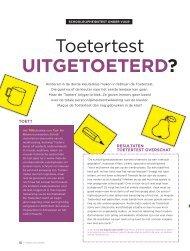 uitgetoeterd? - GO! onderwijs van de Vlaamse Gemeenschap