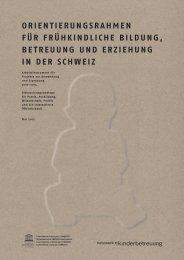 orientierUnGsrAhMen - Marie Meierhofer Institut für das Kind