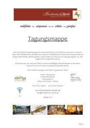 Tagungsmappe zum Download - Hotel Restaurant Forellenhof ...