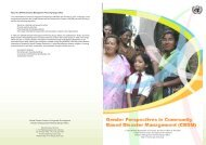 Gender Perspectives in Community Based Disaster Management ...