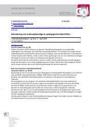 'Brandpunt', jg. 40 nr. 7, april 2013 - GO! onderwijs van de Vlaamse ...