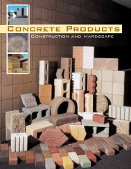 Concrete Products Book - Besser Company