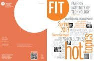 VOLUME 11 - Fashion Institute of Technology