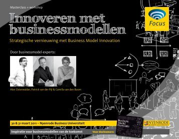 Innoveren met businessmodellen - Focus Conferences