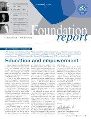 Education and empowerment - International Franchise Association