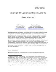 The Internal Control of Firms