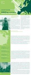 Die Arbeit der Heinrich-Böll-Stiftung in Europa und Nordamerika