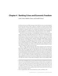 Chapter 4 Banking Crises and Economic Freedom - Fraser Institute