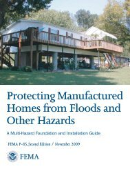 Protecting Manufactured Homes from Floods and Other Hazards