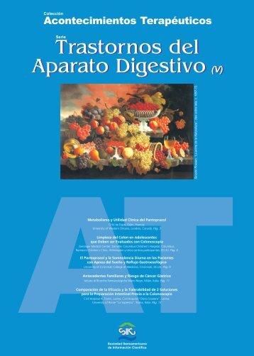 Trastornos del Aparato Digestivo (V) Trastornos del ... - Gador SA