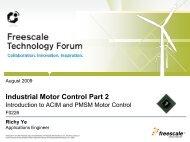 Industrial Motor Control Part 2