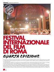 FESTIVAL InTERnAzIOnALE dEL FILM dI ROMA - fleming press