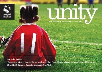 Unity: FURD newsletter 2007 - Football Unites, Racism Divides