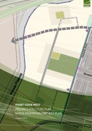 Point Cook West Precinct Structure Plan - Growth Areas Authority