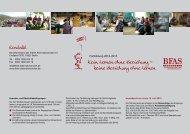 Flyer mit ausführlichen Infos als PDF-Datei - BFAS