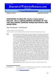Journal of FisheriesSciences.com