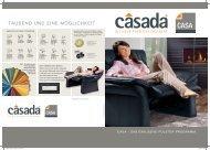 Casada Polster Casa-Broschüre als PDF-Download
