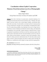 Monetary-Fiscal Interactions in an Era of Demographic Change