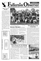 Mid June, 2013 - Fullerton Observer