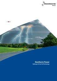 Hydrogen & Fuel Cell Technology - Dantherm Power