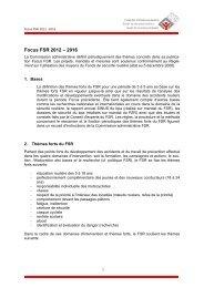 Focus FSR 2012 – 2016