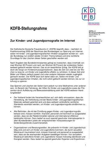KDFB-Stellungnahme - Katholischer Deutscher Frauenbund