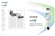 Inkjet Systems Selector Guide - Fujifilm USA