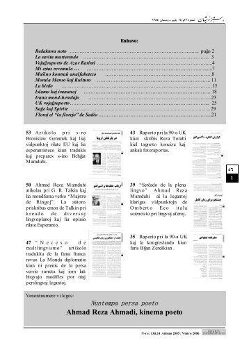 Elŝuti la gazetan numeron ĉe gazetejo.org (pezo: 4.0 Mb)