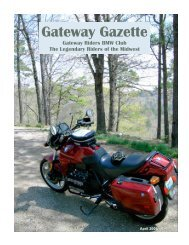 Apr 06 - Gateway Riders Index