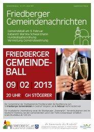 Download Ausgabe 1/2013 - Gemeinde Friedberg