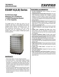 ES4BF-K(A,B) Series - Fox Appliance Parts of Macon, Inc.