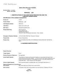 MANUGEL LBA 1. IDENTIFICATION OF THE SUBSTANCE ...