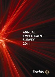 Forfas Annual Employment Survey 2011- FINAL - Forfás