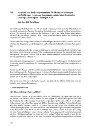 Vergleich von Sanierungsverfahren für Hochdruckleitungen ... - FITR