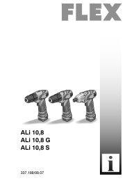 ALi 10,8 - FLEX