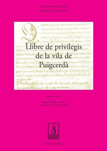 cob privi Puigcerda.indd - Fundació Noguera