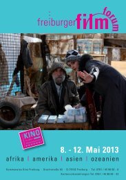Katalog als PDF - freiburger film forum