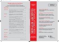 monaldi archives for chest disease - Fondazione Salvatore Maugeri